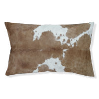Cowhide Dog Bed