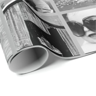 Photo Collage Gift Wrap
