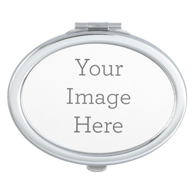 Create Your Own Oval Compact Mirror
