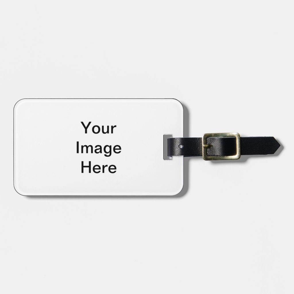 Create Your Own Luggage Tag