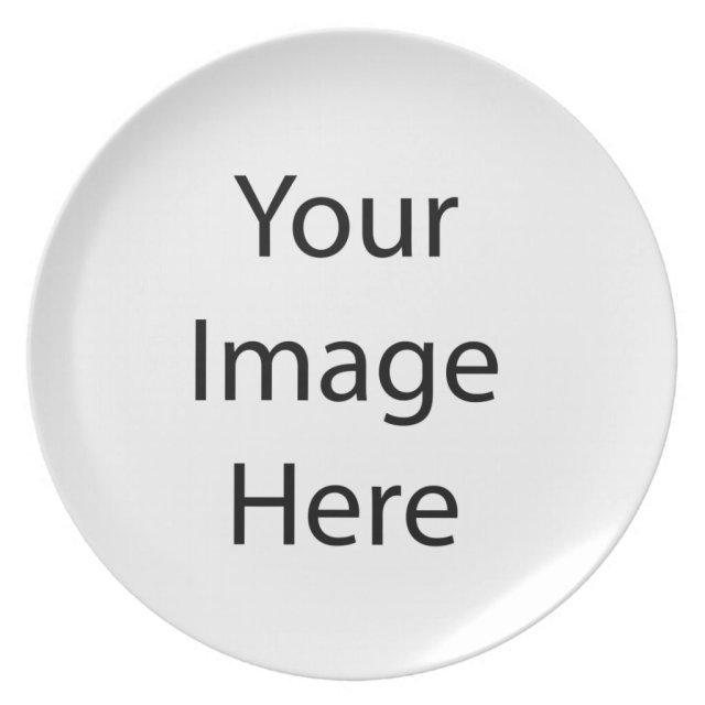 Create Your Own Melamine Plate
