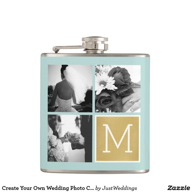 Create Your Own Wedding Hip Flask