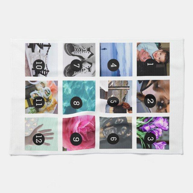 Create Your Photo Tea Towel