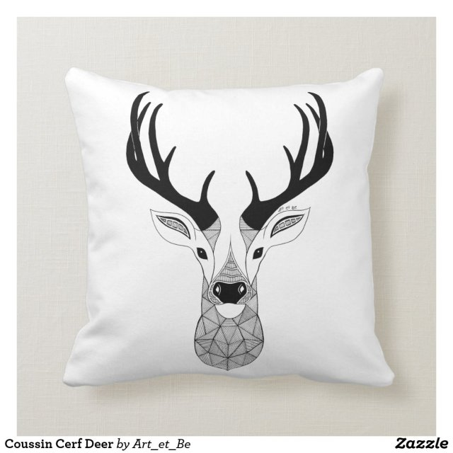 Cushion Deer Stag