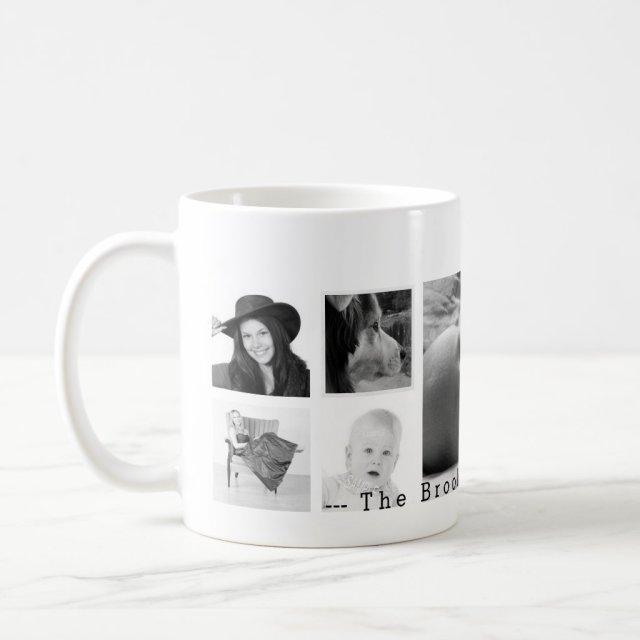 Custom 9 Instagram Photo Collage Mug