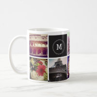 Custom Instagram 8 Photo Mug