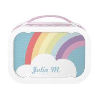 Personalised Rainbow Lunch Box