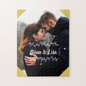 Customisable Vertical Couple Photo Puzzle