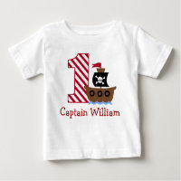 Customizable Pirate T-Shirt
