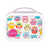 Cute Litte Owls Lunch Box