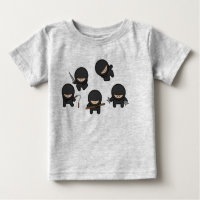 Ninjas Baby T-Shirt