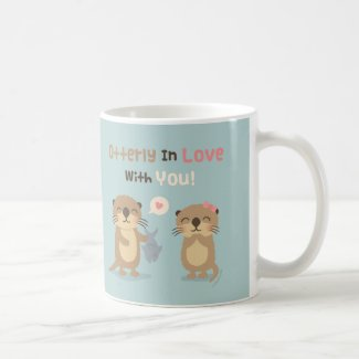 Cute Otterly in Love With You Mug