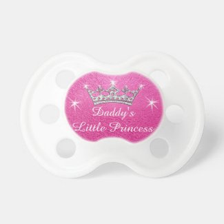 Daddy's Little Princess Pacifiers