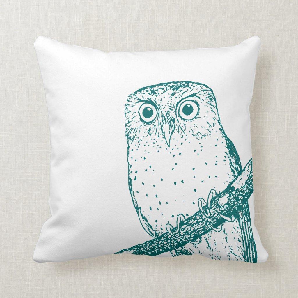 Vintage Owl Cushion
