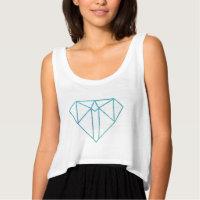 Diamond Women's Crop Top