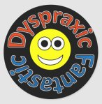 Dyspraxic Fantastic Smiley Stickers