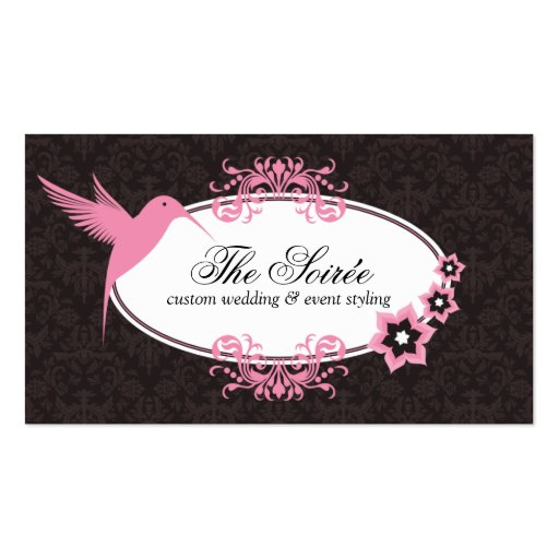Create Your Own Wedding Planner Business Cards Page4