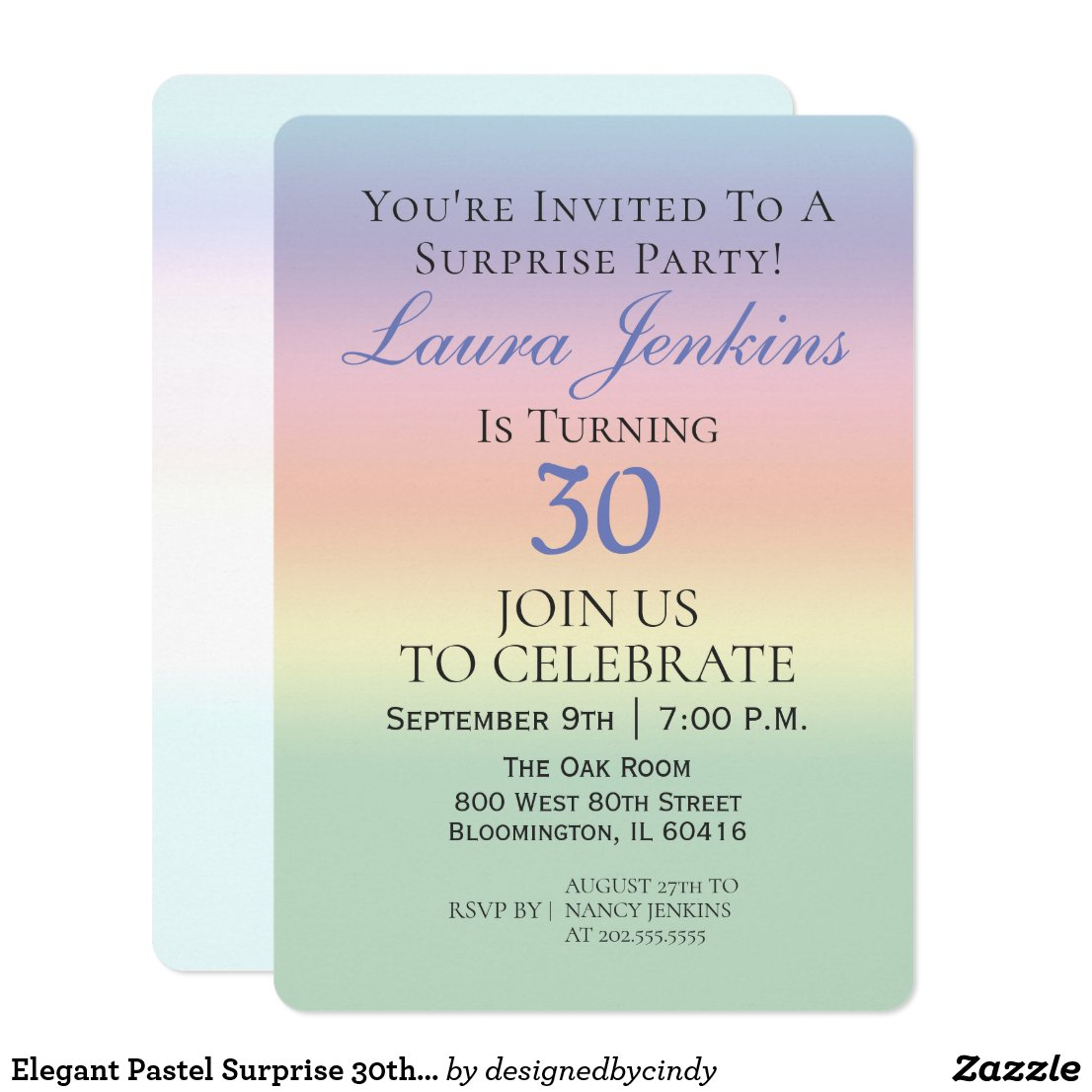 30th birthday invitations personalised party invitations