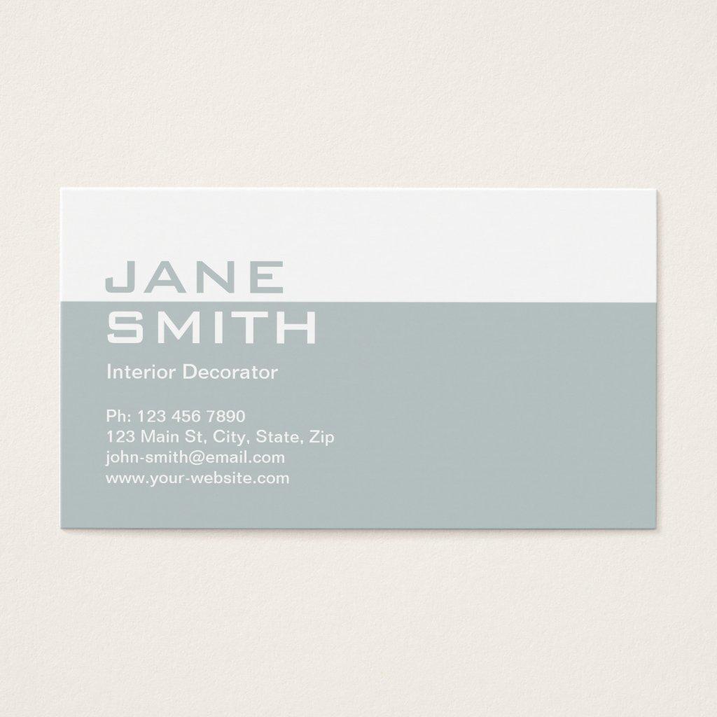 Elegant Professional Interior Design Decorator