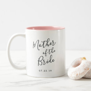 Elegantly Penned | Mother of the Bride Two-Tone Coffee Mug