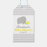 Elephant Baby Shower Favor Tags|Pack of Gift Tags Pack Of Gift Tags