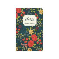 English Garden Personalized Floral Journal