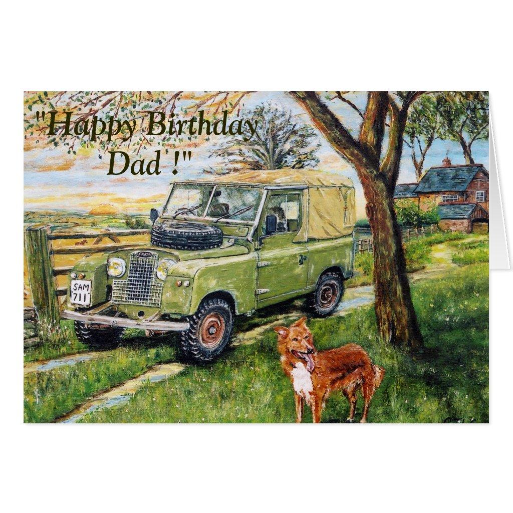 Farm Birthday Card For Dad