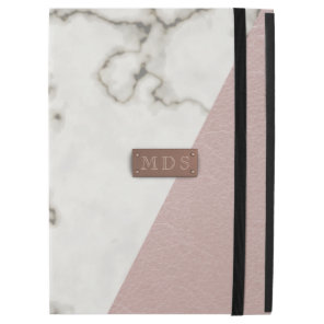 Faux Blush Pink Marble iPad Pro 12.9