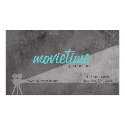 Film Production Company Pack Of Standard Business Cards Zazzle
