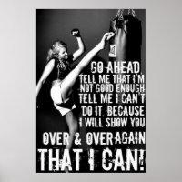 Fitness Motivation Poster