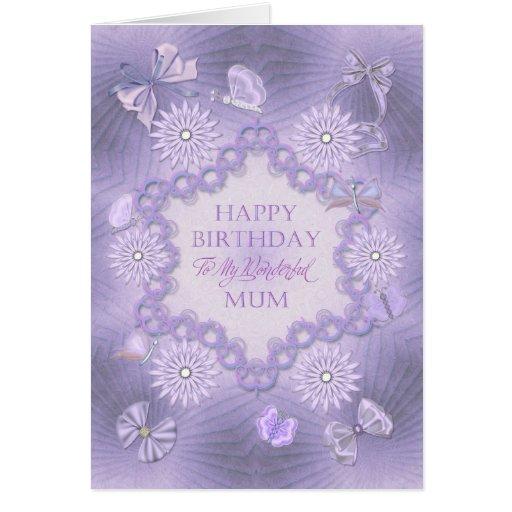 For mum birthday card