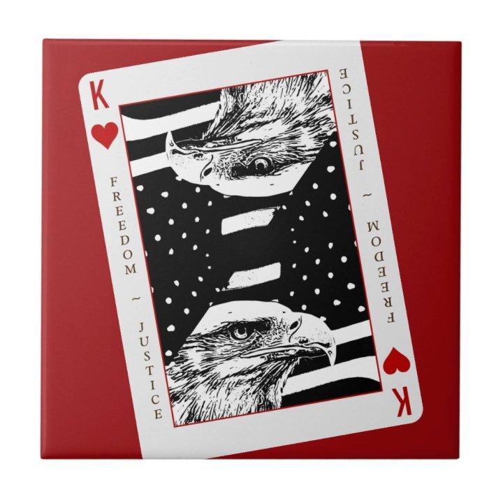 Freedom Justice Ceramic Tile