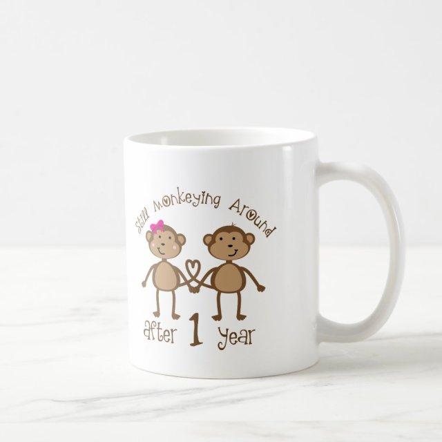 Funny 1st Wedding Anniversary Gifts Coffee Mug
