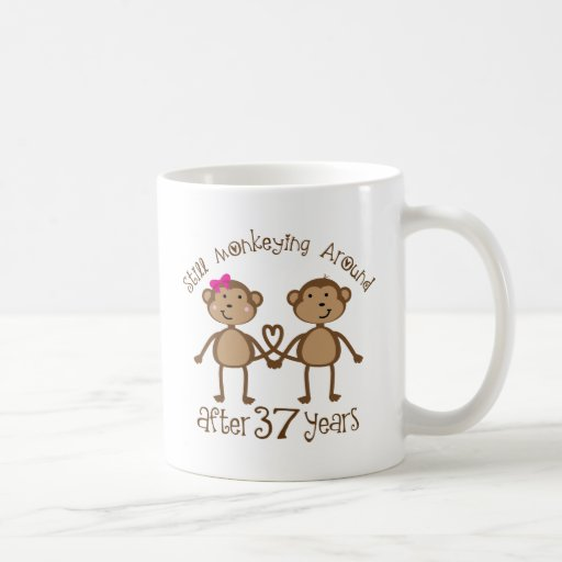 Funny 37th Wedding Anniversary Gifts Coffee Mugs | Zazzle