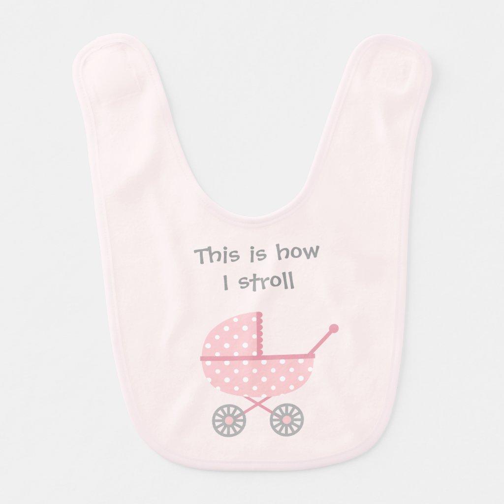 Funny Baby Stroller Bib