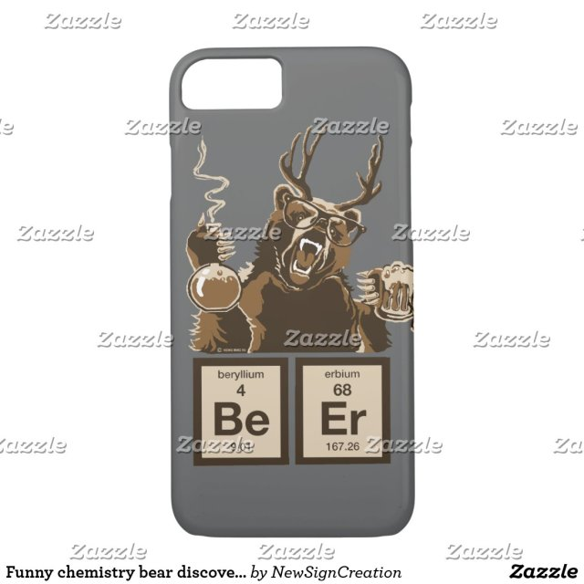 Funny Bear iPhone Case