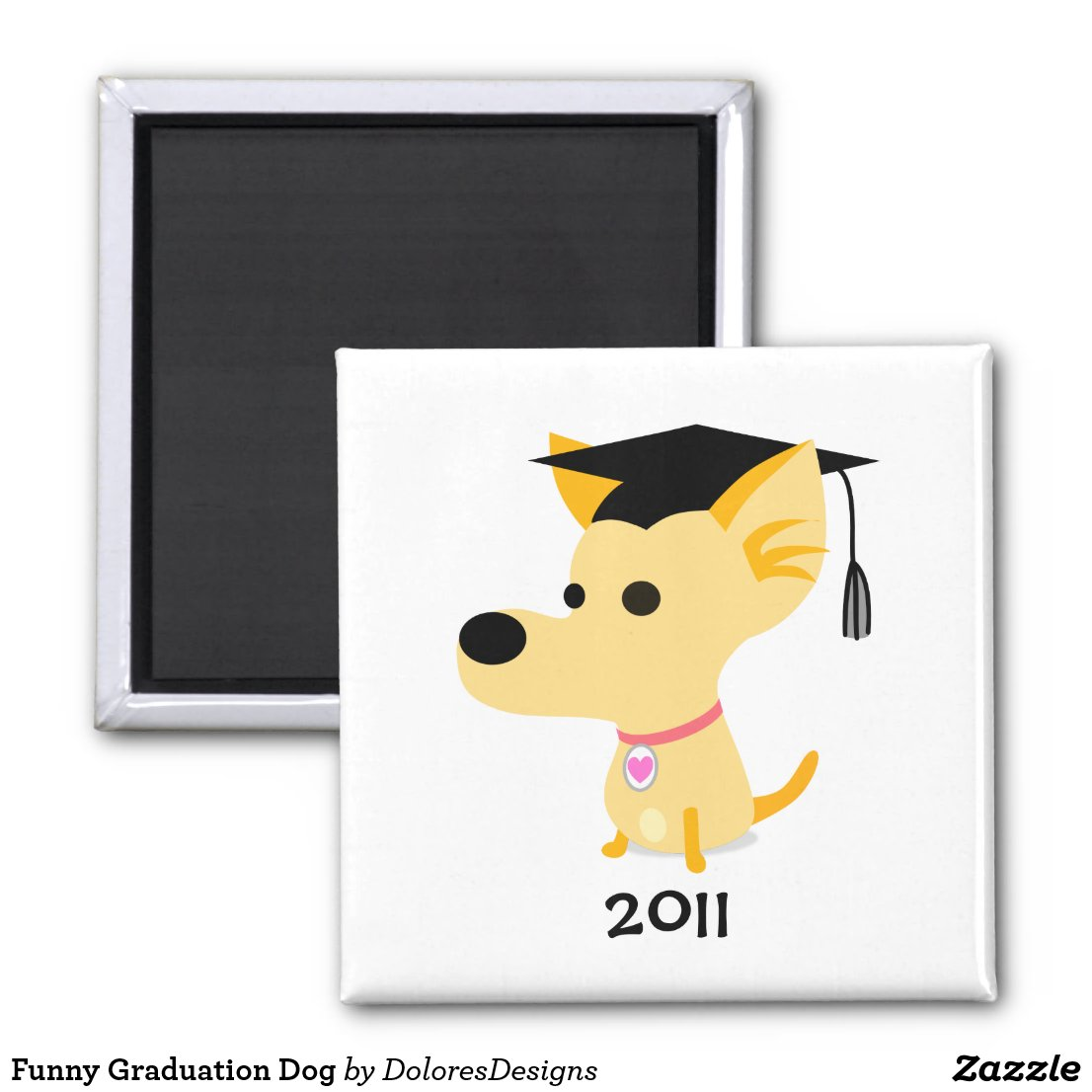 Funny Graduation Dog
