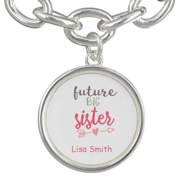 Big Sister Charm Bracelet