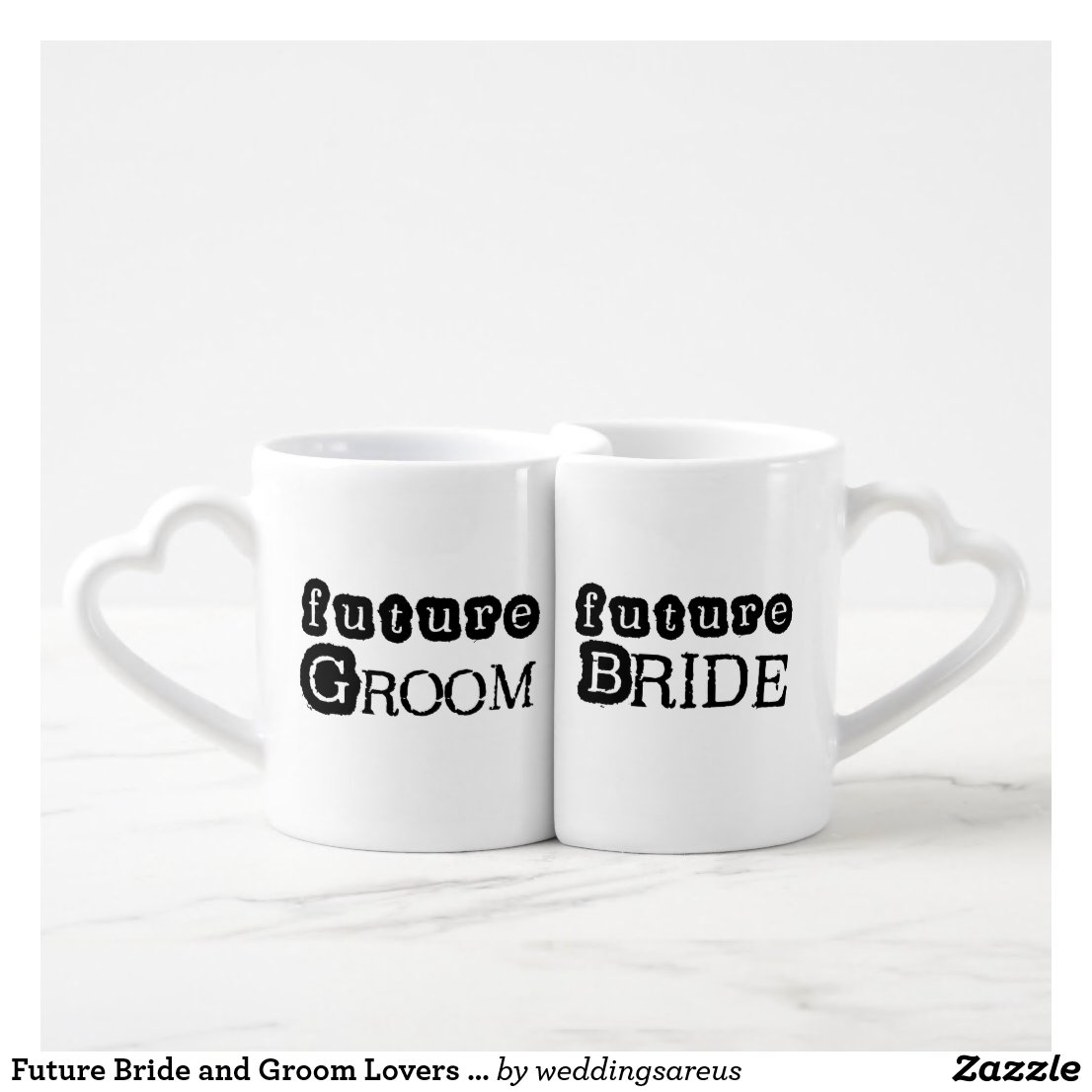 Future Bride and Groom Lovers Mugs