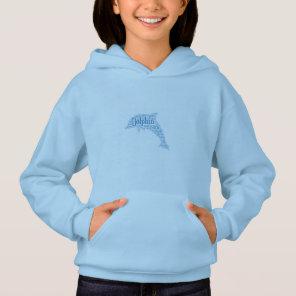 Girl's Dolphin Sweatshirt