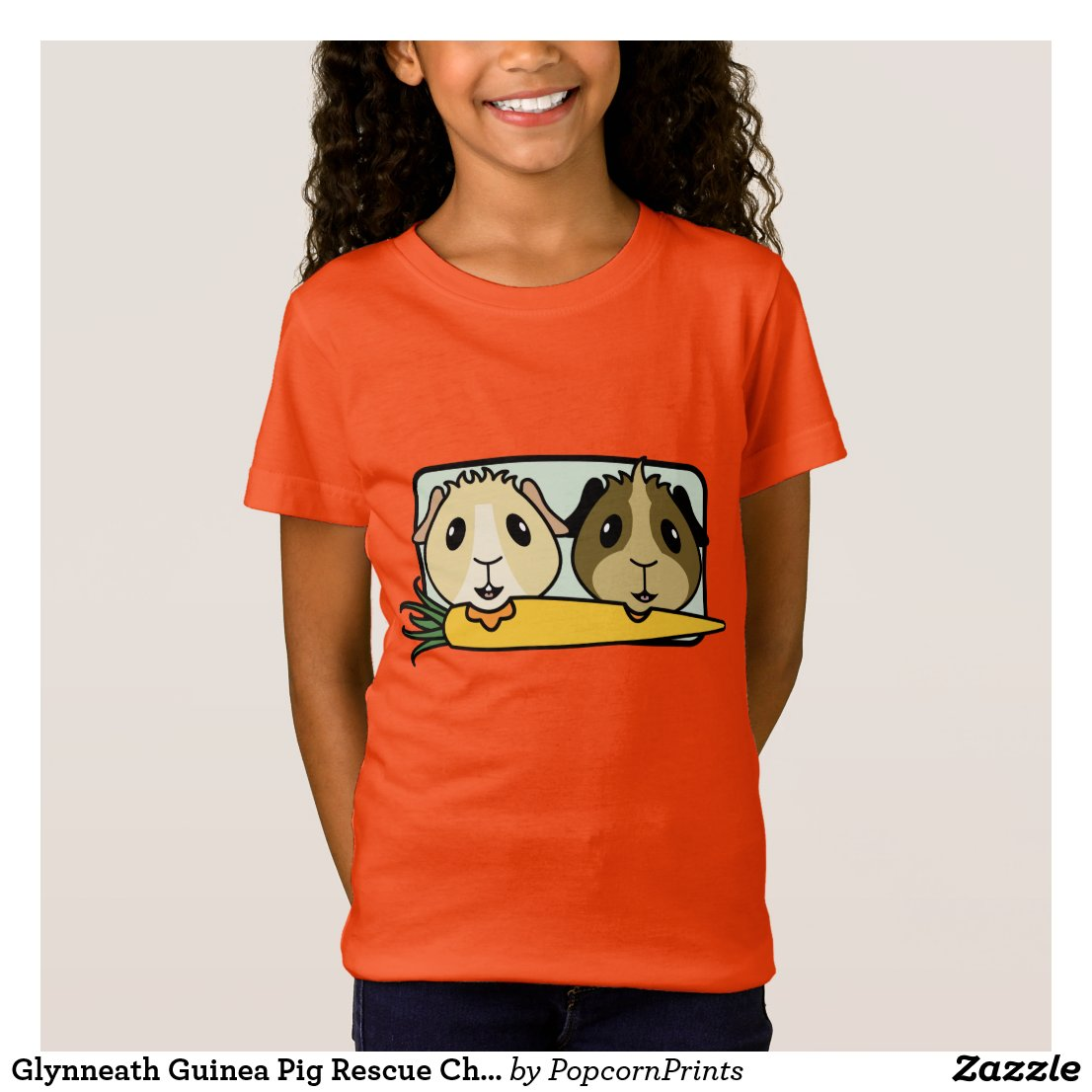 Glynneath Guinea Pig Rescue Children's T-Shirt