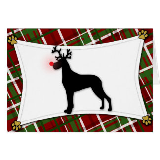 Great Dane Christmas Cards Amp Invitations