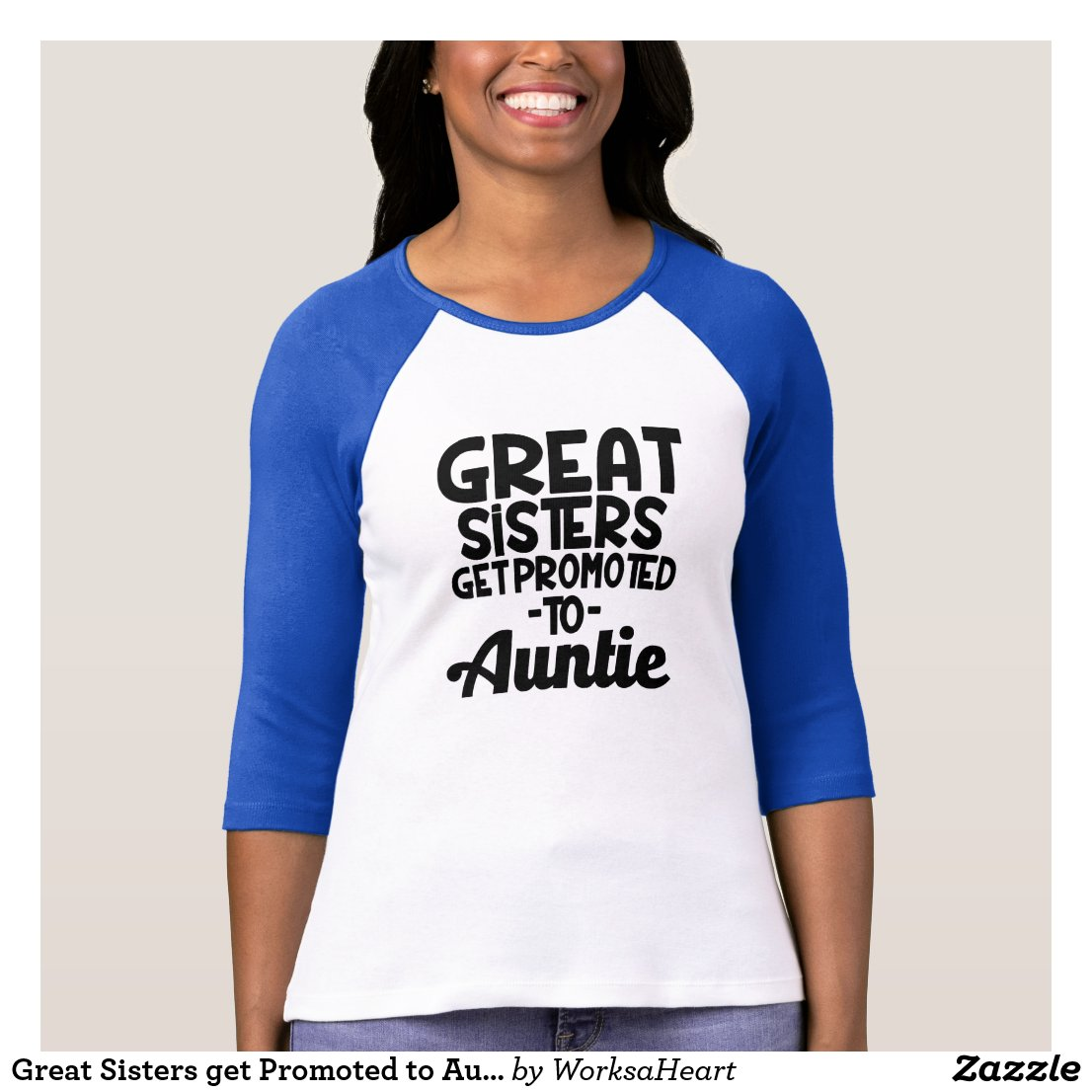 Great Sisters get Promoted to Auntie T-Shirt