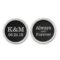 Groom Cufflinks | Always and Forever Design