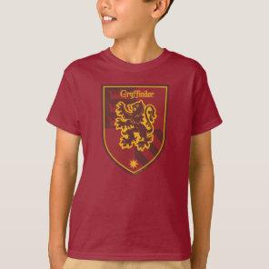 Harry Potter   Gryffindor House Pride Crest T-Shirt