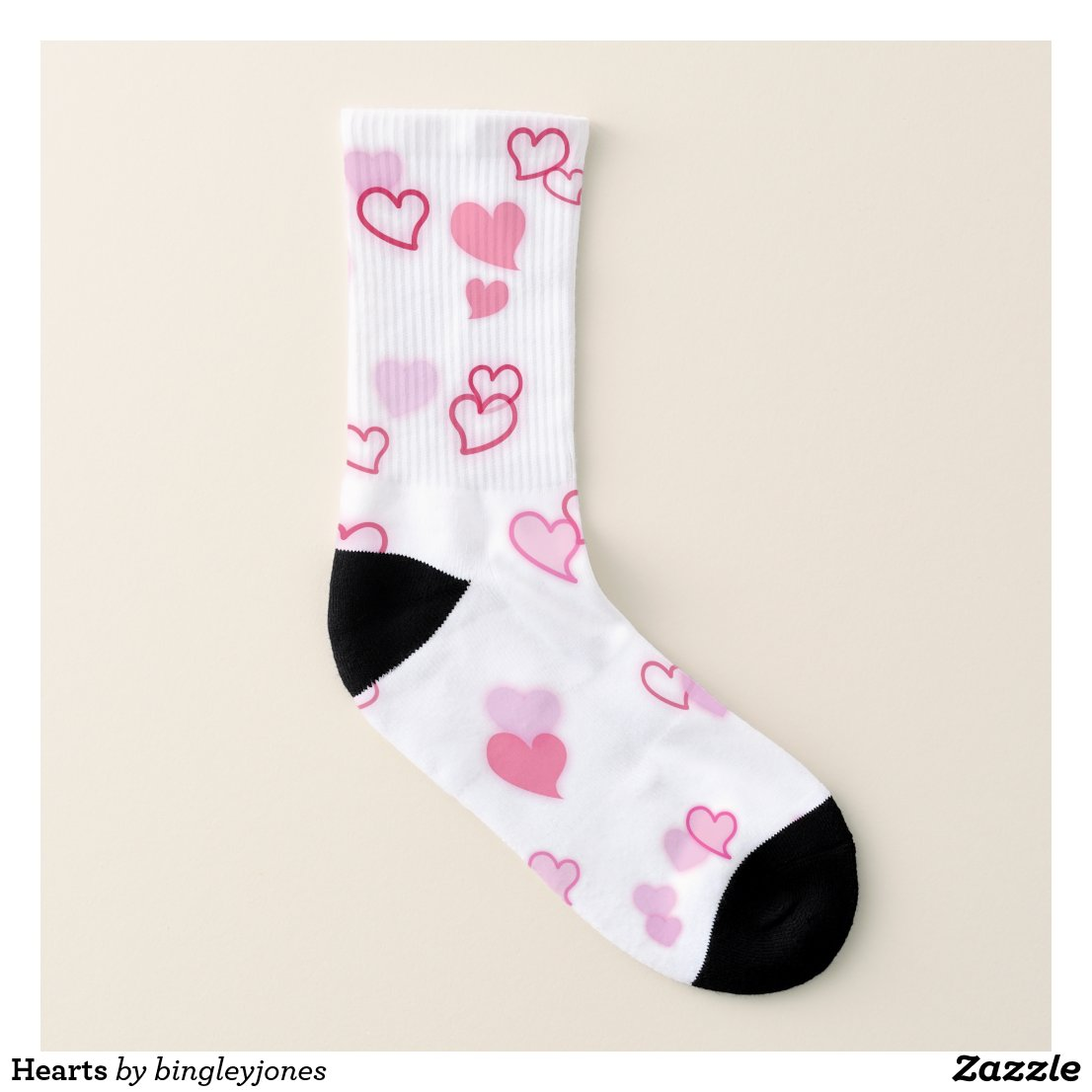 Hearts Socks