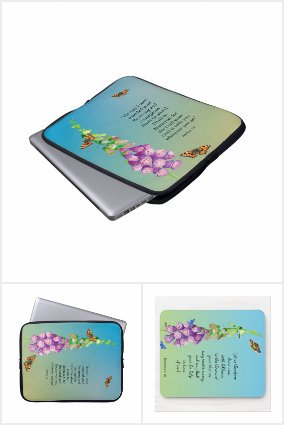 Inspirational Mouse Mats and Laptop Sleeves