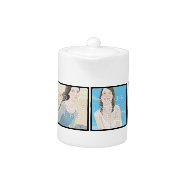 Photo Personalised Teapot