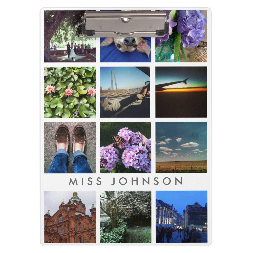 Instagram Photo Grid Clipboard