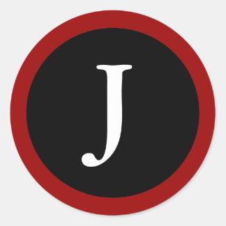 Letter J Stickers Amp Labels Zazzle UK
